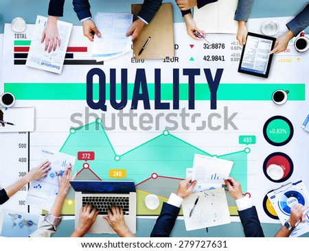 Quality Best Stature Repute Rank Concept - stock photo