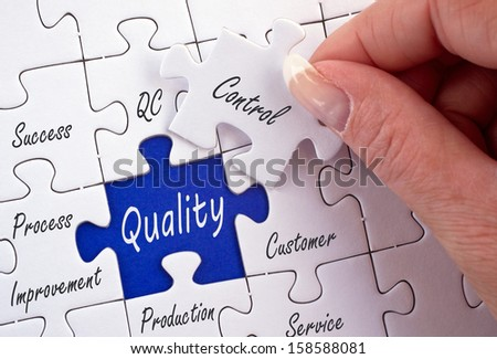 Quality Control - stock photo