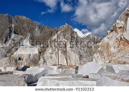 quarries - stock photo