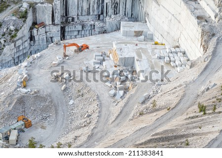 Quarry - stock photo