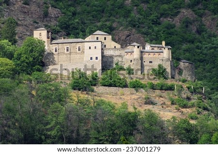 Quart Castello  - stock photo