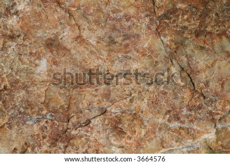 quartz and granite - stock photo