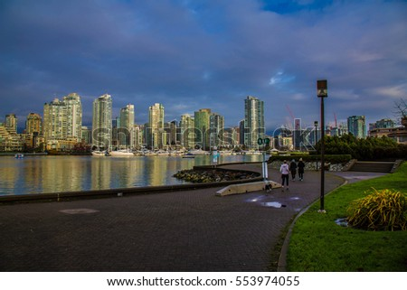 Quay of Vancouver, British Columbia, Canada