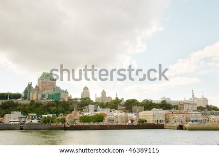 Quebec City Skyline - stock photo