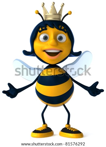 Queen bee - stock photo