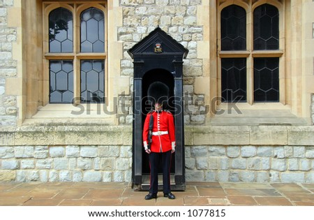Queen's Guard - Tower of London