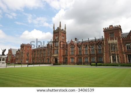 Queen's University, Belfast, Ireland - stock photo
