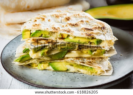 Quesadillas Stock Images, Royalty-Free Images & Vectors | Shutterstock