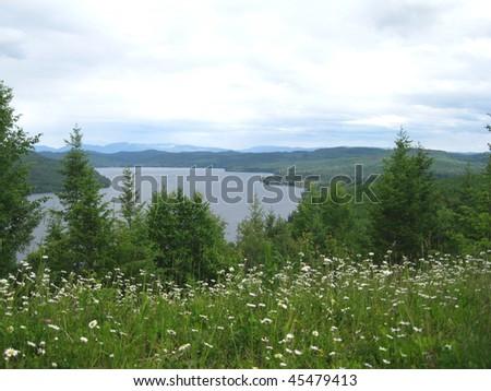 Quesnel Lake - stock photo