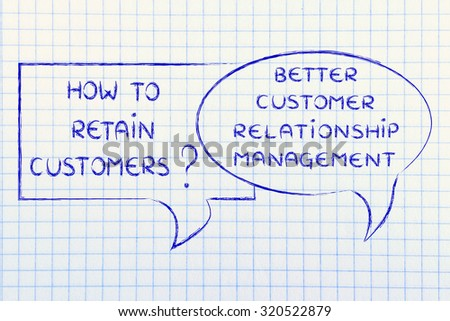 question and answer: how to retain customer? better crm