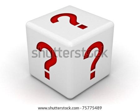 Question Box - stock photo