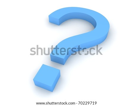 Question concept - stock photo