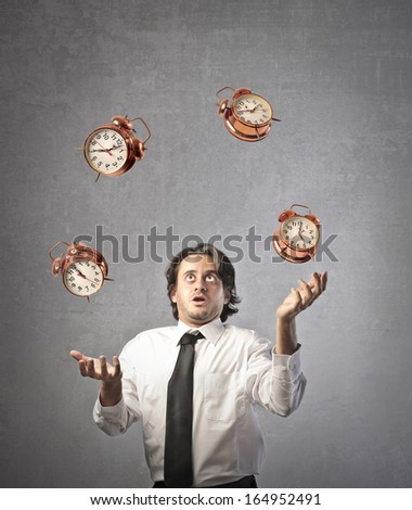 Question of Timing - stock photo