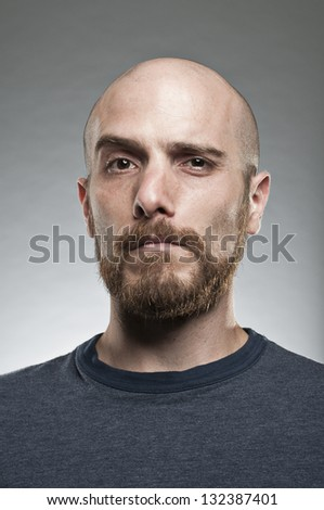 Questioning Expression - stock photo