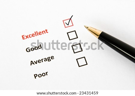 Questionnaire - stock photo