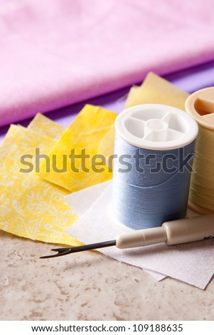 Quilting  1 - stock photo