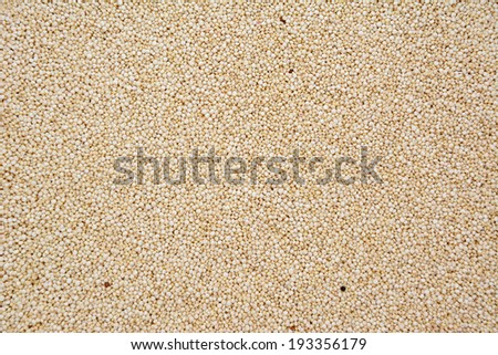 Quinoa, abstract background texture - stock photo