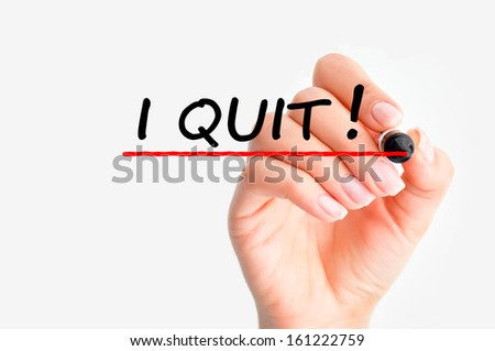Quit Job Letter Quit my Job Decision Stock