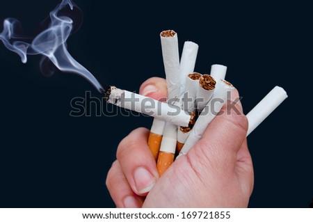 Quit smoking  - stock photo