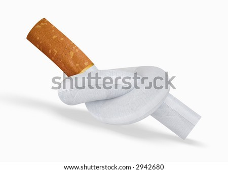 Quit Smoking. - stock photo