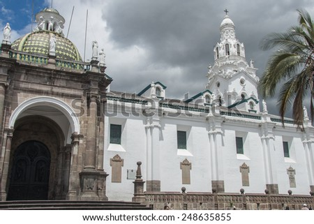 Quito - stock photo