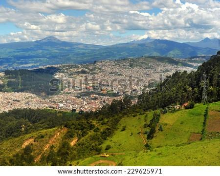 Quito, Ecuador - stock photo
