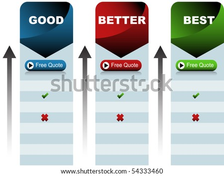 Quote Chart - stock photo