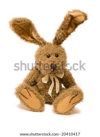 Rabbit toy - stock photo