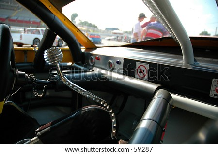 Race Car - stock photo
