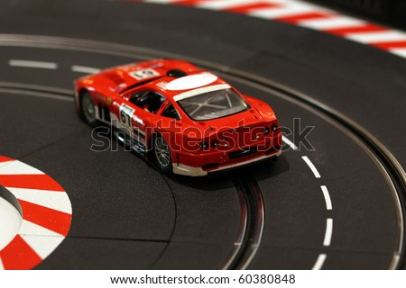 racecar - stock photo