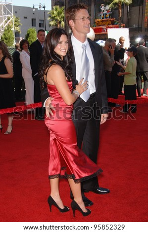 Racecar driver DANICA PATRICK & date at the 2006 ESPYS Sports Awards at the Kodak Theatre, Hollywood. July 12, 2006  Los Angeles, CA  2006 Paul Smith / Featureflash