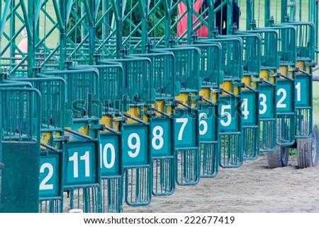Racecourse Chiang Mai Thailand - stock photo