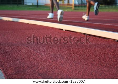 racetrack4 - stock photo