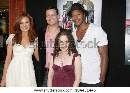 Rachel Boston and B.P. Cooper with Senta Moses and McKinley Freeman at the Los Angeles Sneak Peek Screening of 'Ten Years Later'. Majestic Crest Theatre, Los Angeles, CA. 07-16-09