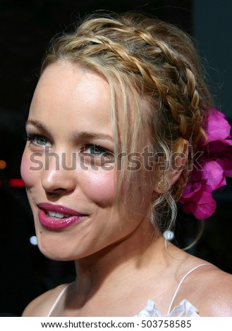 Rachel McAdams at the Los Angeles premiere of 'Red Eye' held at the Mann Bruin in Westwood, USA on August 4, 2005.