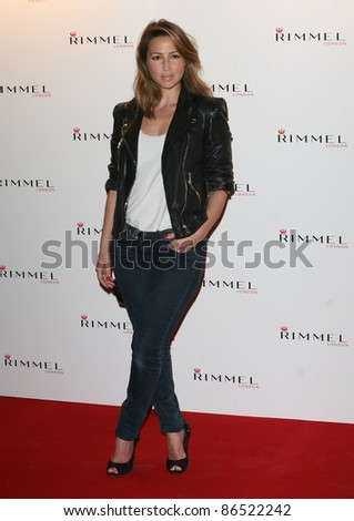 Rachel Stevens arriving for the Rimmel Party, at Battersea Power Station, London. 16/09/2011 Picture by: Alexandra Glen / Featureflash