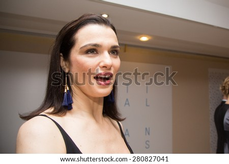 Rachel Weisz attend the 'Lobster' photo call during the 68th annual Cannes Film Festival on May 15, 2015 in Cannes, France. - stock photo