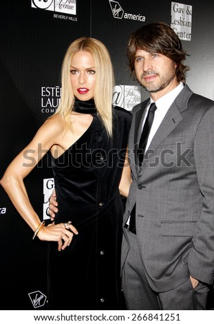 Rachel Zoe and Rodger Berman at the Los Angeles Gay And Lesbian Center Homeless Youth Services Benefit held at the Sunset Tower in West Hollywood on January 23, 2012.  - stock photo