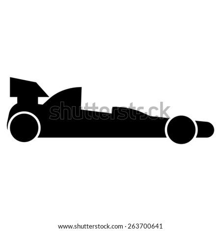Racing Car formula - stock photo