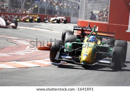 Racing cars - stock photo