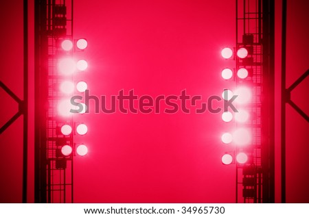rad Floodlight - stock photo