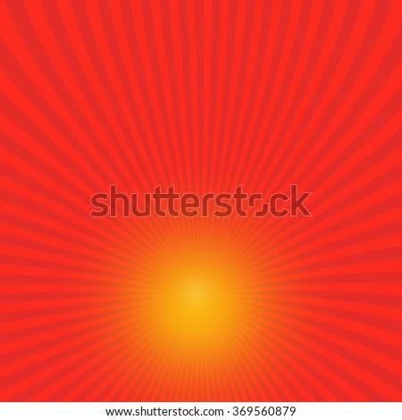 Radiating Rays Backgrounds - stock photo