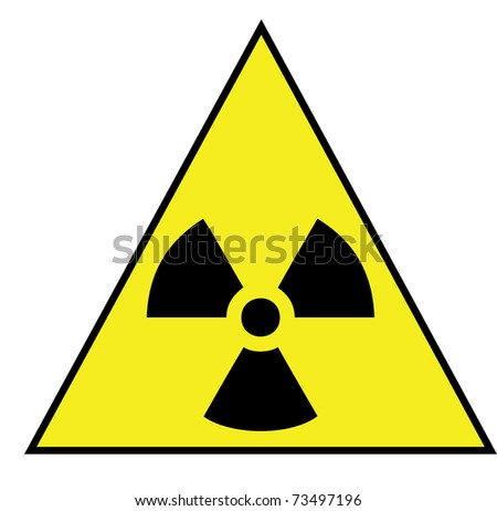 Radiation triangle sign