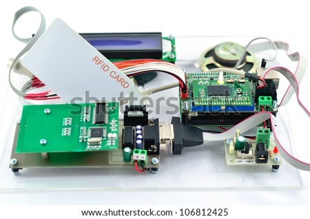 Radio-frequency identification reader kit