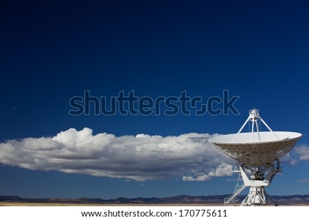Radio Telescope - stock photo