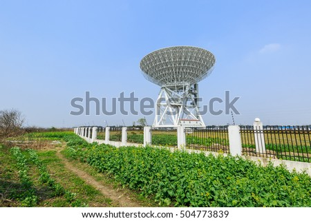 Radio telescopes for astronomical observations in China