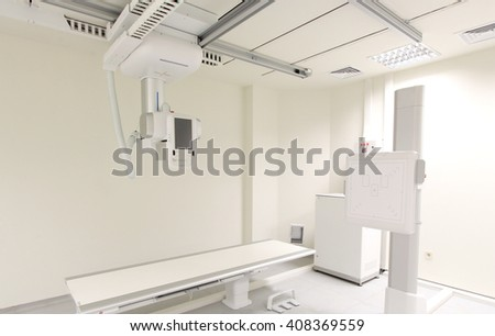 Radiology X-Ray Room - stock photo