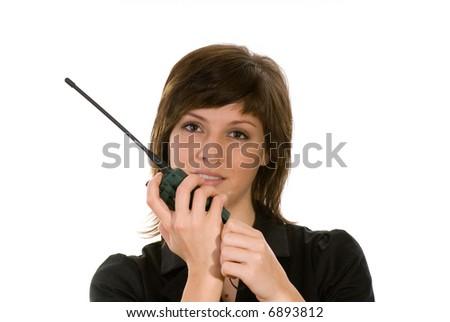 radiotelecommunication - stock photo
