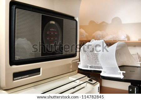 Radiotherapy Simulator - stock photo