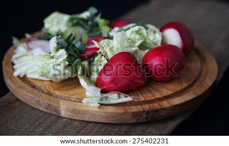 radish - stock photo